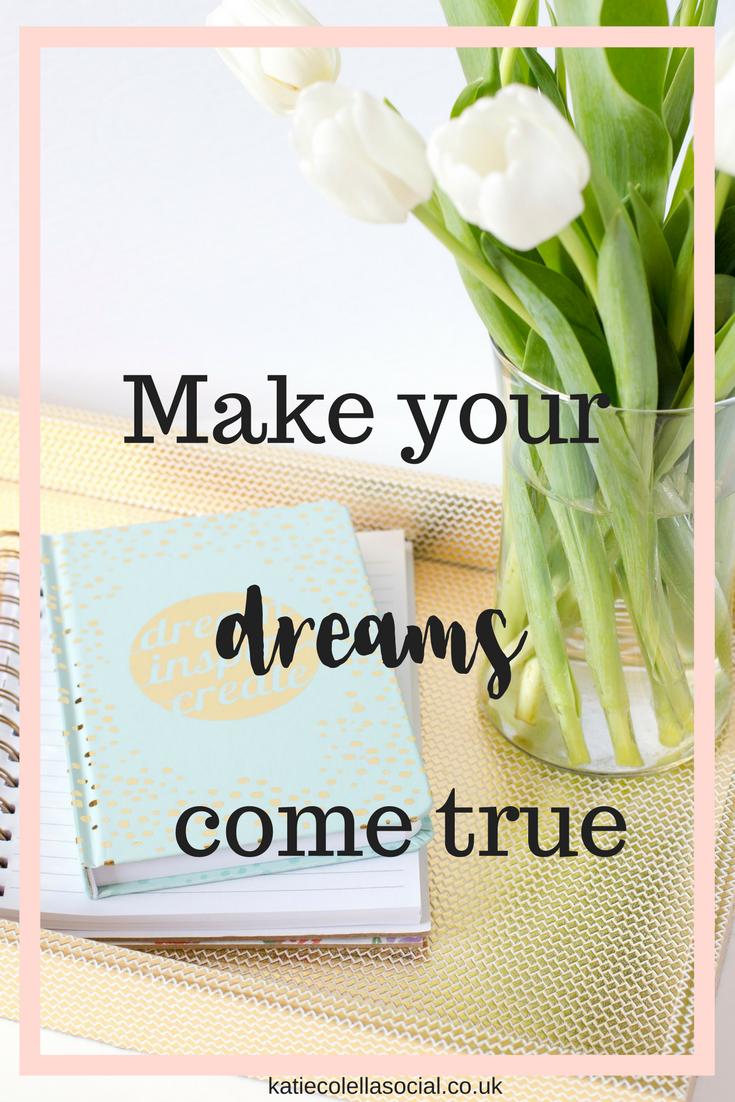 katie colella social, social media assistant, virtual assistant, business support specialist, dreams, goals, work hard