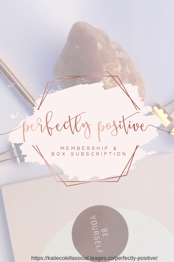 perfectly positive, box subscription, positivity, mindset